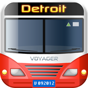 vTransit - Detroit public transit search icon