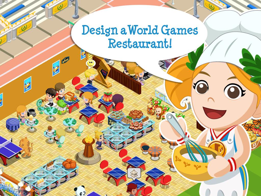 Restaurant Story: World Games