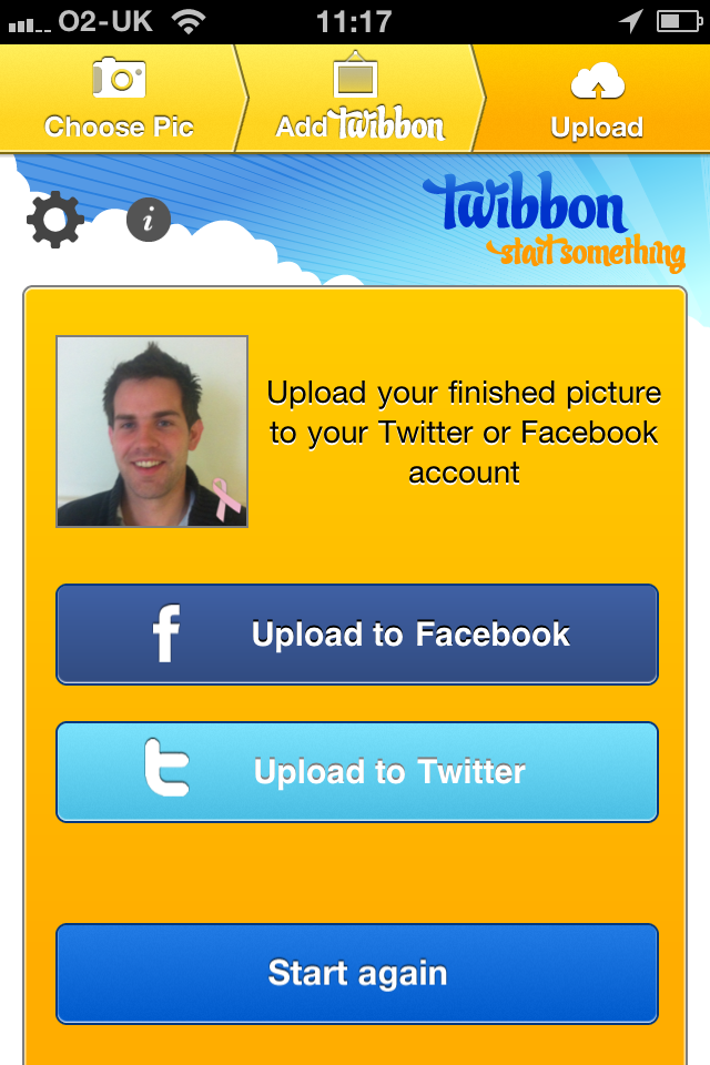 Twibbon Screenshot
