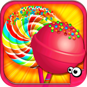 iMake Lollipops Free- Free Lollipop Maker by Cubic Frog Apps! More Lollipops? icon