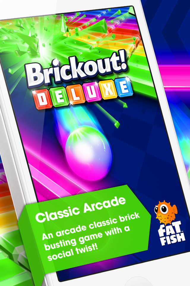 Free Brickout Deluxe Pro iPhone Game