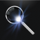 MagLight+  Magnifying Glass Flashlight