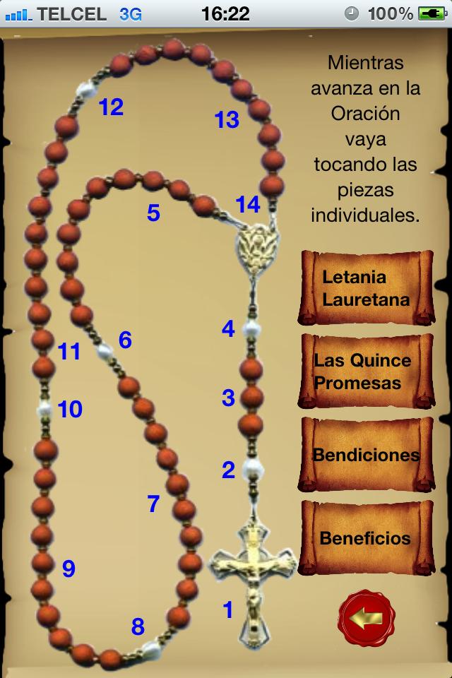 Santo Rosario Católico | iPhone Lifestyle apps | by Martha