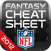NFL Fantasy Football Cheat Sheet 2012 icon