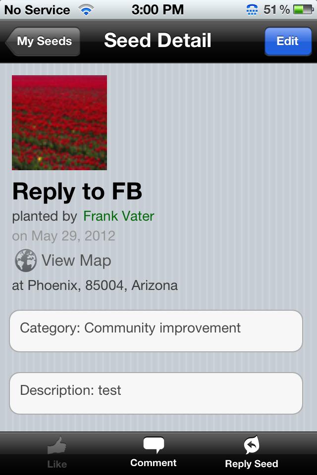 iPad Image of SeedSpeak
