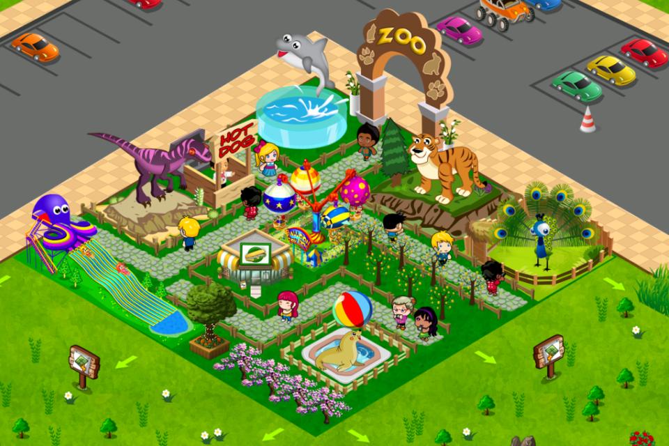 可爱动物园
