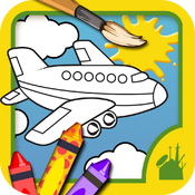 Planes Coloring Book icon