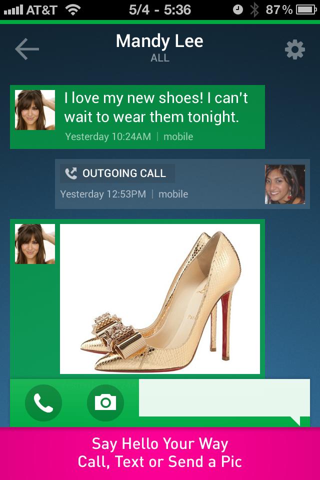 textPlus Free Calls screenshot 4