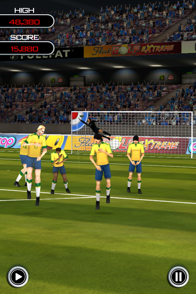 Flick Soccer!: Fun from the First 'Flick'