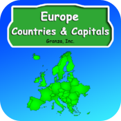 Learn Europe Countries and Capitals icon