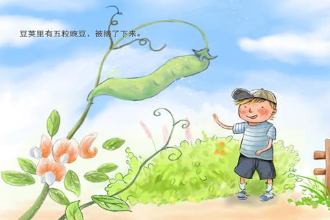 豌豆藤简笔画内容图片展示