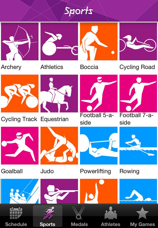 Londres 2012: Aplicación oficial con los resultados de los Juegos Olímpicos y Paralímpicos