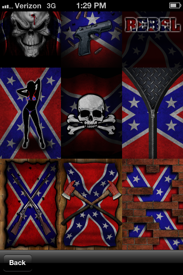 Southern Pride (Rebel Flag) Wallpaper! app for iPhone and iPad
