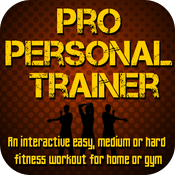 Pro Personal Trainer - An Interactive Health & Fitness Workout For All Levels icon