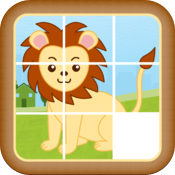 Kidz Sliding Puzzle HD icon
