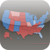 2012 Map: The Presidential Election App icon