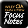CIA Exam Notes - Wiley Certified Internal Auditor Exam Review Focus Notes Volumes 1–4 Set