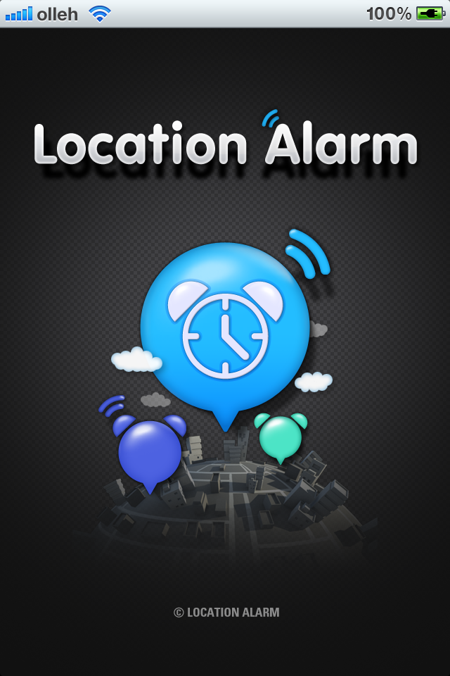 Free Location Alarm iPhone Game