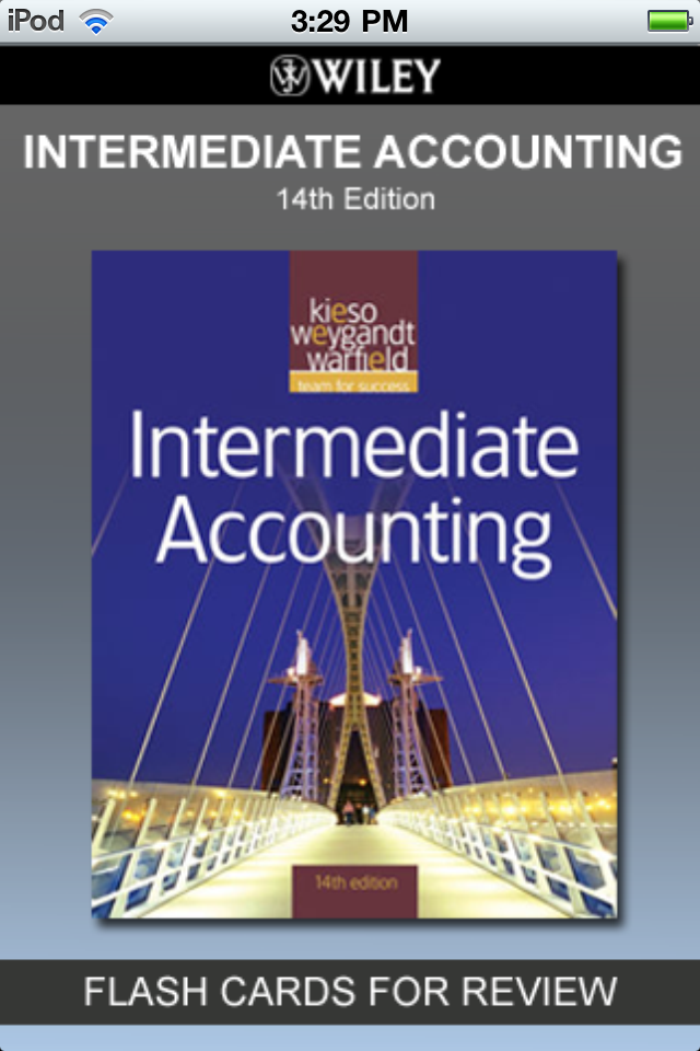 intermediate accounting Intermediate accounting i emphasis is on accounting for most assets financial statements from the perspective of both preparers and users, accounting standard-setting process, and economic consequences of accounting standards on a firm's stakeholders.