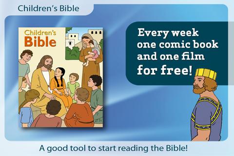 Children's Bible free app screenshot 1