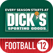 Dick's Sporting Goods Football 2012 icon