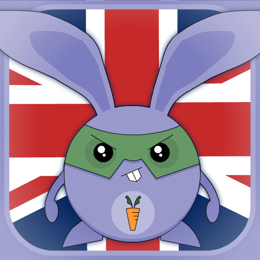 Learn British English words - play Word Carrot language game for free