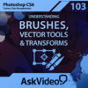 AV for Photoshop CS6 103 - Understanding Brushes, Vector Tools and Transforms for Mac