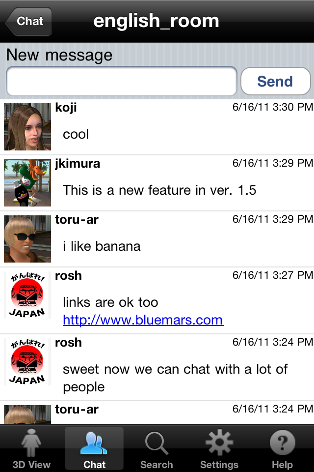 Blue Mars Mobile free app screenshot 1