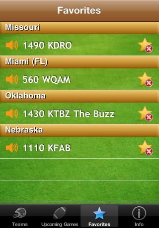 College Football Radio screenshot 5