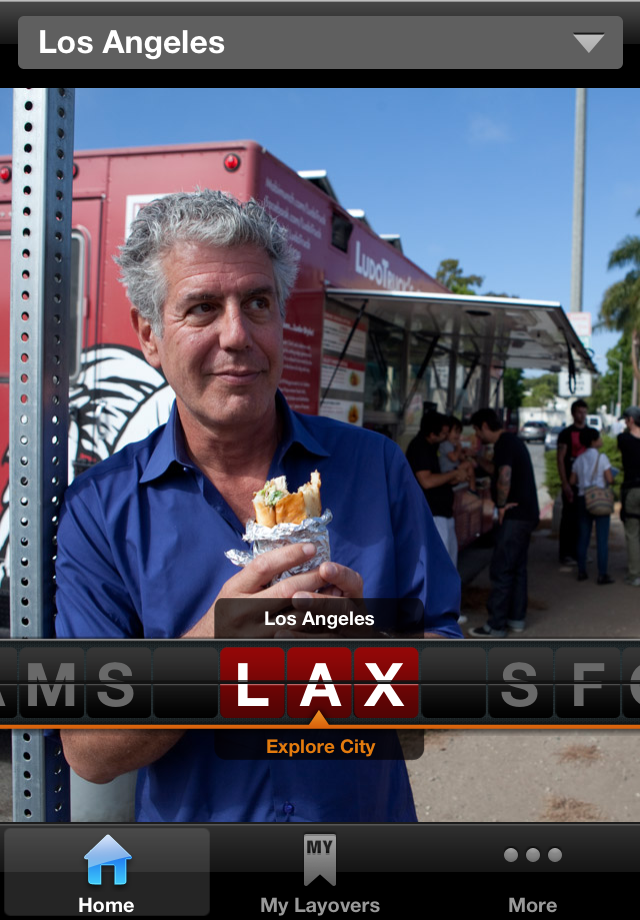 Travel Channel Layover Guide with Anthony Bourdain