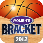 Women's Bracket 2012 College Basketball Fillable Tournament icon