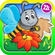 Abby Monkey® Animal Shape Puzzle for Preschool Kids: Meadow icon