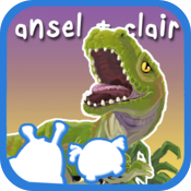 Ansel and Clair: Cretaceous Dinosaurs icon