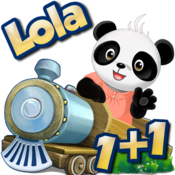 Lola's Math Train Lite – Fun with Counting, Subtraction, Addition and more! icon
