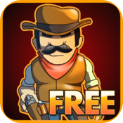 Cowboy Jed: Zombie Defense FREE icon