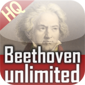 Beethoven Music Radio. Unlimited. icon