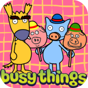 The Three Little Pigs presented by Dog and Cat icon