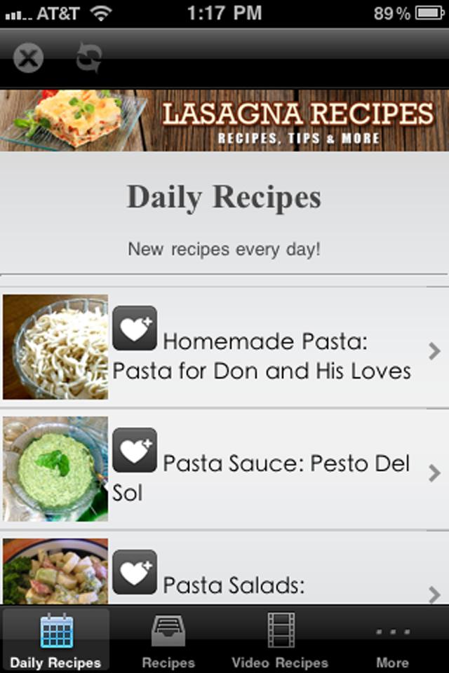 Lasagna Recipes!