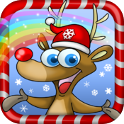 Christmas Pets - All in 1 draw, paint and play games HD icon