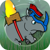 Crazy Rhino HD icon