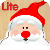 Wood Puzzle Christmas Lite icon