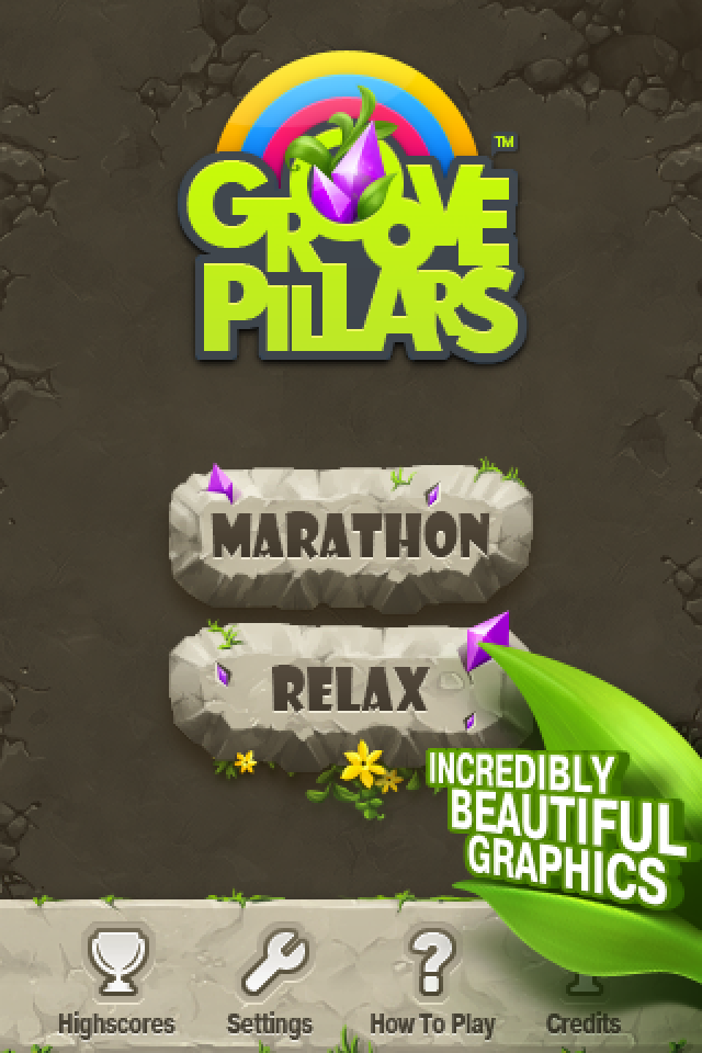 Free Groove Pillars iPhone Game