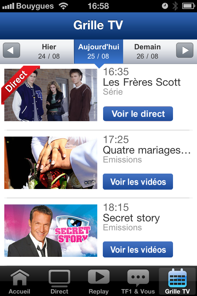 iTunes] l'application iPad TF1 devient MYTF1 - Paperblog