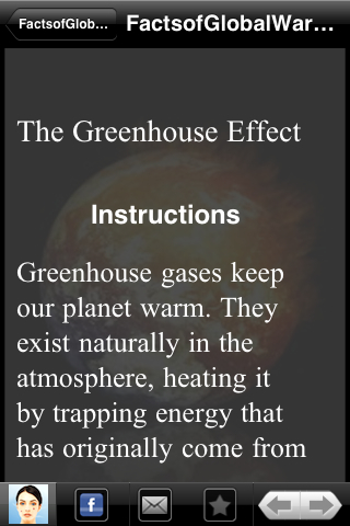 global warmin fact of opinion Global warming facts: did you know that global warming could drive to extinction as many as 1 in 6 animal and plant species global warming has raised the earth's average surface temperature about 15°f (08°c) since the industrial revolution.