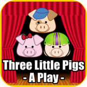 Three Little Pigs - A Play icon