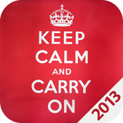 Keep Calm 2013 icon