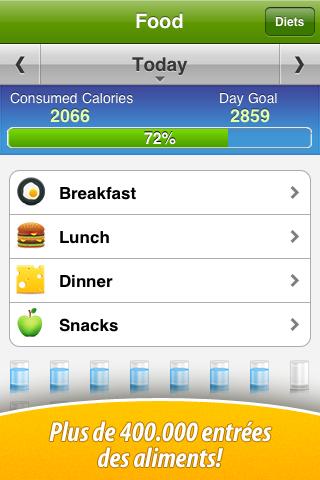 Copie d'écran 2 de l'application