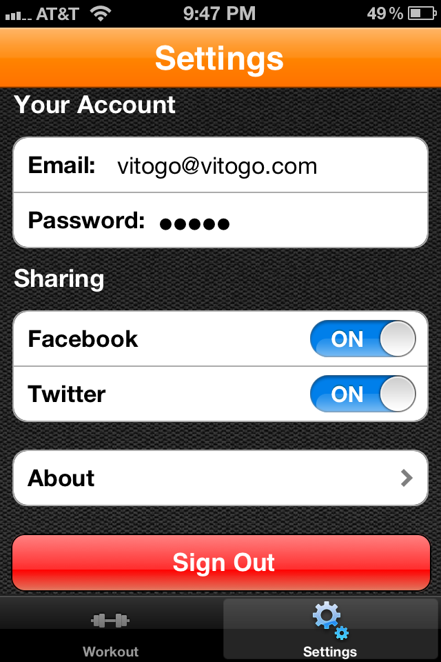 Vitogo Fitness: Personal Trainer Screenshot