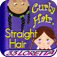 icon for Curly Hair, Straight Hair