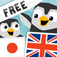 LinguPingu FREE - English Japanese / 日本語 英語 - children learn language